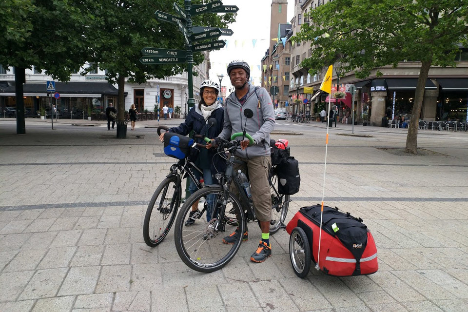 Cycling Europe and the Kattegattleden