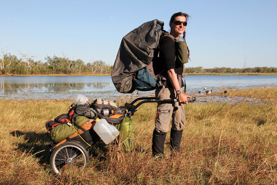 20.000km Walking Expedition with a Walking Trailer