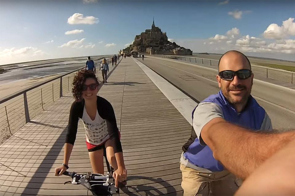 Touring France on Folding Bikes