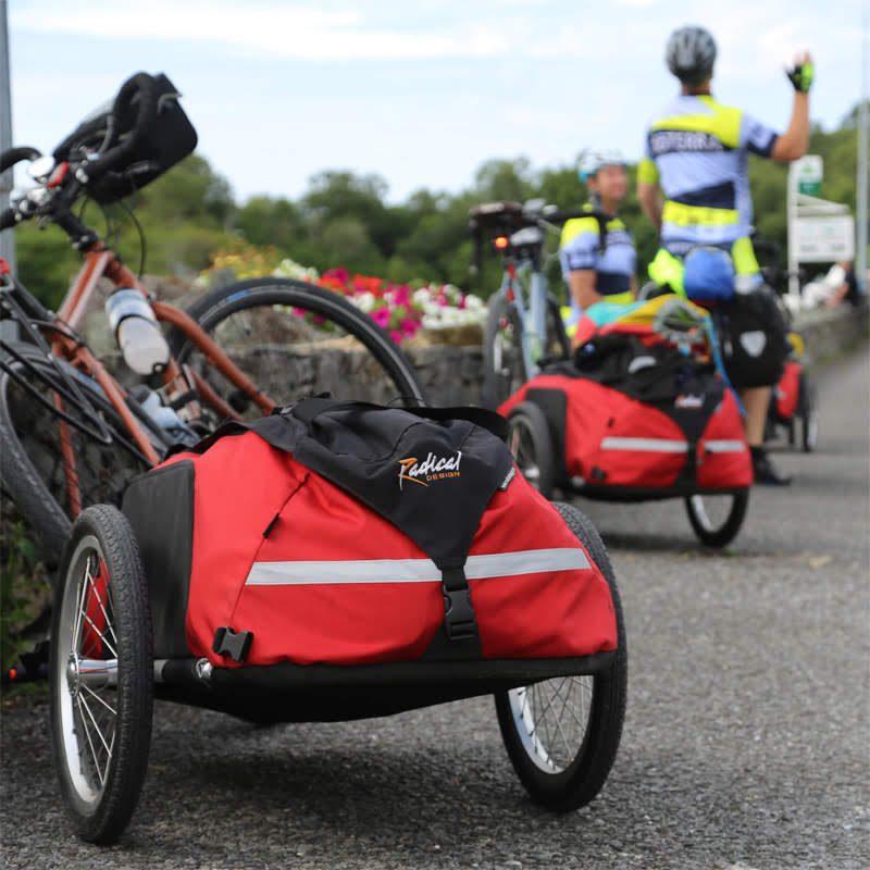 Gebruikte fietskarren