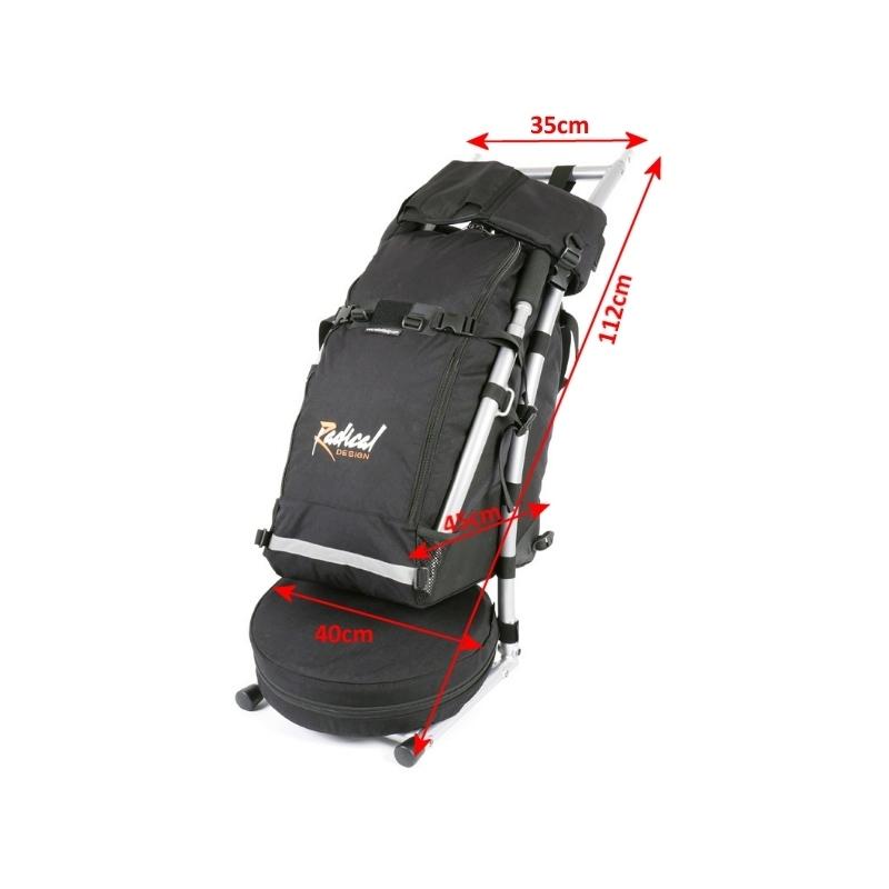 21051 Wheelie V Traveller packed dimensions