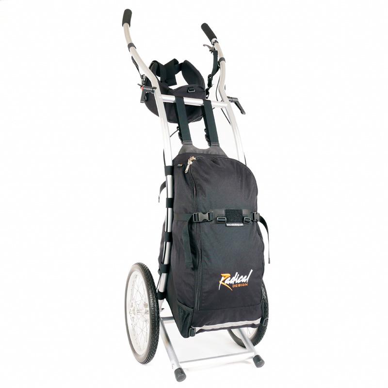 Wheelie V Traveller HD wandelkar geremd