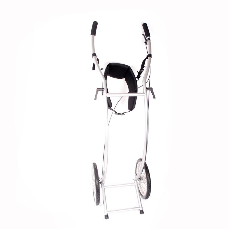 Wheelie V Skeleton wandelkar geremd