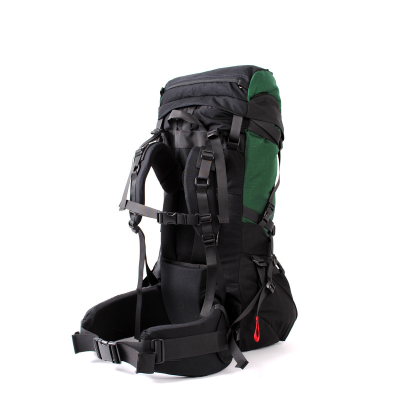 30002 Pulsar60 Expedition Backpack Green Back