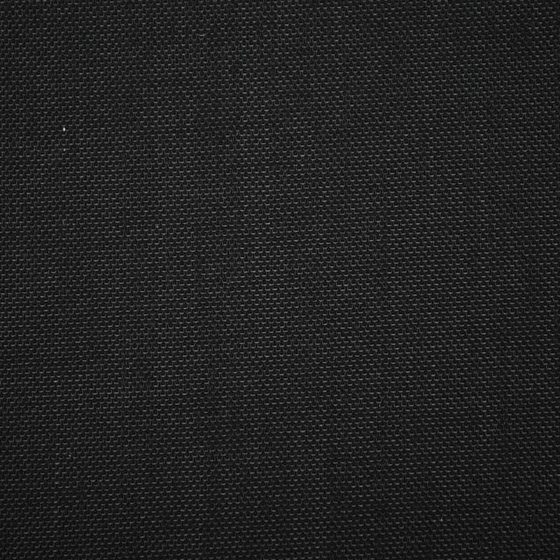 Cordura 1000D, 2 lagen AC-PU Zwart