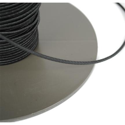 Koord elastisch 3mm zwart
