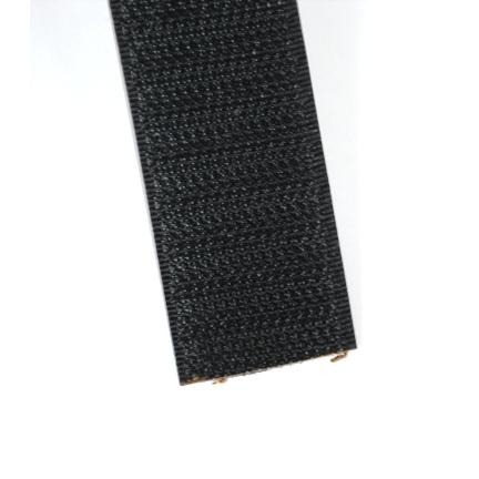 Klittenband zwart 25 mm haak
