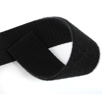 Velcro Double Sided Black