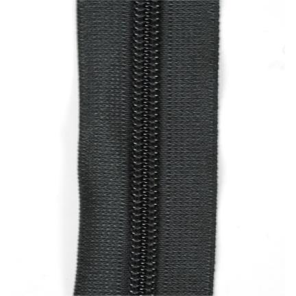 Rits YKK RCF 8mm zwart